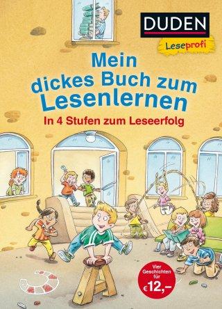 Leseprofi – Mein dickes Buch zum Lesenlernen: In 4 Stufen zum Leseerfolg